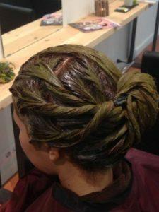 coloració vegetal tintes anti alergicos barcelona la bio pelu biopeluqueria ecologica bio